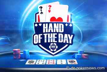 Bis zu $1,000 bei der 888poker Hand of the Day gewinnen