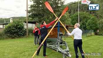 Ein Bootsschuppen für die Vorwärts II in Hörschel - Thüringische Landeszeitung