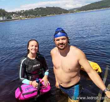 Philippe Belley et sa fille se donnent le défi de traverser le lac Saint-Jean en 2021 - Le Droit - Groupe Capitales Médias