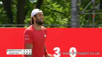 Highlights: Matteo Berrettini beats Roberto Bautista Agut at Bett1 Aces - Eurosport.co.uk