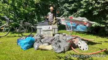 Kolbermoor: Niklas Romanski sammelt wieder den Müll der anderen ein - Oberbayerisches Volksblatt