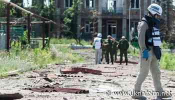 OSCE SMM records increase in ceasefire violations in Donetsk region - Ukrinform. Ukraine and world news