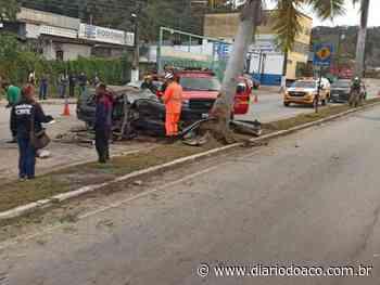 Acidente fatal na avenida Tancredo Neves, em Coronel Fabriciano - Jornal Diário do Aço