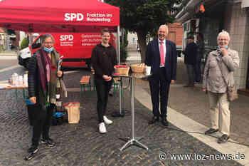 Klönschnack vor Ort: SPD-Bundestagsabgeordnete Nina Scheer in Lauenburg und Geesthacht - LOZ-News   Die Onlinezeitung für das Herzogtum Lauenburg