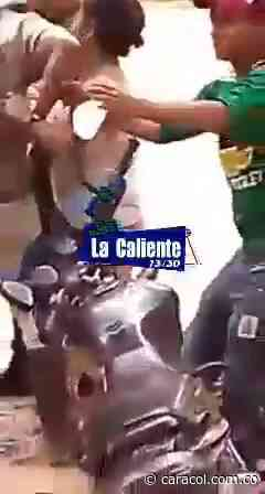 Agarrón entre alcalde y comunidad por no cumplir cuarentena - Caracol Radio