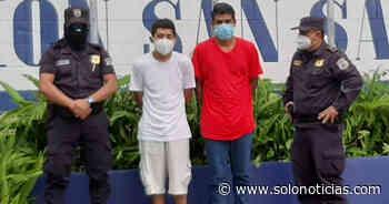 Extorsionaban a víctimas en Barrio Santa Anita, de San Salvador - Solo Noticias
