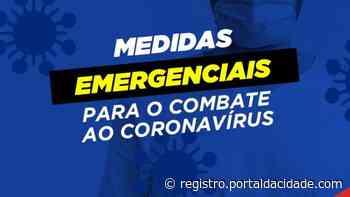Cajati publica decreto sobre reabertura econômica da fase amarela - Adilson Cabral