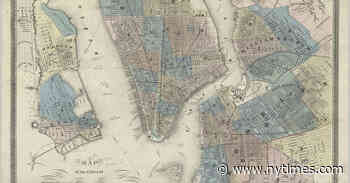 Online Map Collection Provides a Peek at New York Over the Centuries
