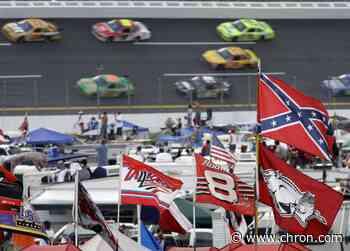 Confederate flag flown over NASCAR race. Again.