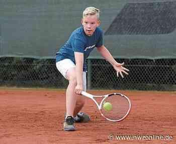 Tennis: Edewechter Junioren starten in Turniersommer - Nordwest-Zeitung