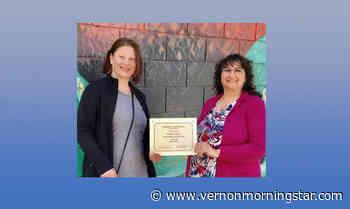 Lumby organization honours club member – Vernon Morning Star - Vernon Morning Star