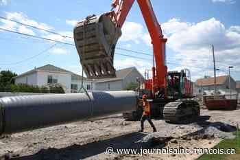 ALI Excavation bonifie le réseau sanitaire de Vaudreuil-Dorion - Le Journal Saint-François