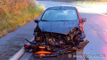 Meinerzhagen: Unfall auf der L539 - Fiesta schleudert gegen VW-Bus - come-on.de