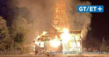 Einbeck: Mutmaßliche Brandstifterin in U-Haft - Göttinger Tageblatt