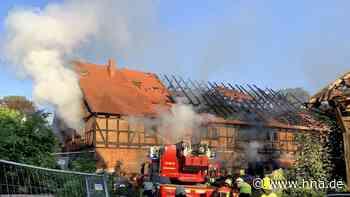Feuer in Gebäude in Greene flammt wieder auf - HNA.de