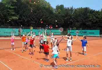 Sommercamps der Tennisschule des TC Puchheim - Puchheimer Stadtportal