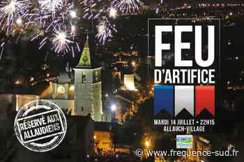 Finalement Allauch tirera bien un feu d'artifice ce mardi 14 juillet - Frequence-Sud.fr