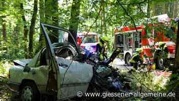 Hungen/Gießen: Schwerer Unfall auf L3131 - Rettungshubschrauber im Einsatz - Gießener Allgemeine