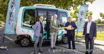 Autonom fahrende Minibusse in Kloster Eberbach - Wiesbadener Kurier