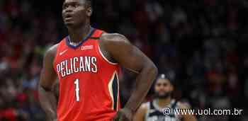 Zion Williamson sai da quarentena do Pelicans por razões familiares - Bol - Uol