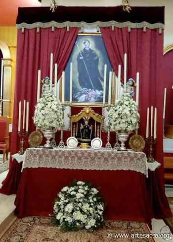 Cultos en honor a San Benito Abad en la Parroquia de San Francisco de Asís - Arte Sacro