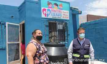 #Chihuahua | El comedor ´Pancita Llena´ ya contará con tinaco; recibe donación de la JMAS - Adriana Ruiz