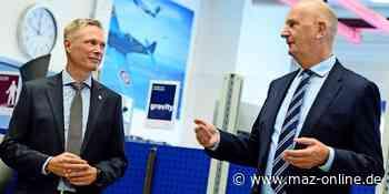 Dahlewitz: Ministerpräsident Woidke sichert Rolls-Royce Unterstützung in Corona-Pandemie zu - Märkische Allgemeine Zeitung