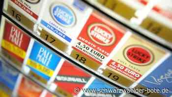 Baiersbronn: Diebe haben es auf Zigaretten abgesehen - Baiersbronn - Schwarzwälder Bote