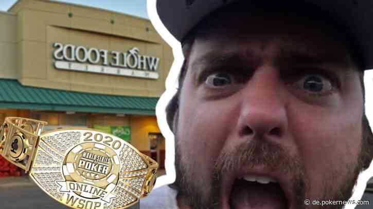 """Ryan DePaulo """"Degenerate Gambler"""" Wins WSOP Bracelet in Whole Foods Lot"""