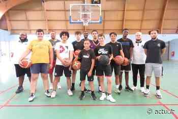 Basket-ball : à Val-de-Reuil, après le confinement, retour au jeu pour le DBVR - actu.fr