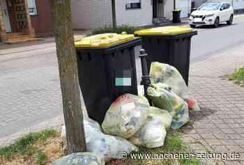 Ärger um Entsorgung von Verpackungsmüll in Alsdorf - Aachener Zeitung