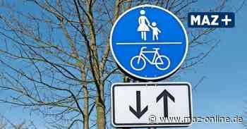 Initiative fordert mehr Sicherheit für Radfahrer in Michendorf - Märkische Allgemeine Zeitung