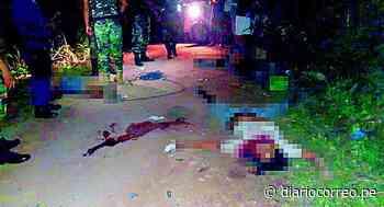 Satipo: Cuatro sujetos emboscan y acribillan a policía y sus dos amigos - Diario Correo