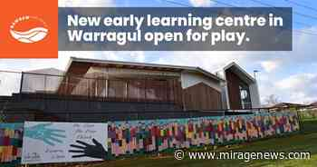 New early learning centre in Warragul is open for play - Mirage News