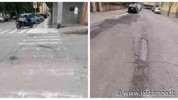 Casale Monferrato, strade rotte e amianto: la protesta di Oltreponte - La Stampa