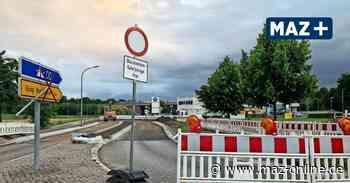 Wildau: Vollsperrung und neue Umleitung auf der Landesstraße L 401 - Märkische Allgemeine Zeitung