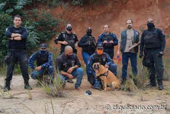 Cadela da Guarda Civil de Araruama encontra carga de drogas em Três Vendas - Clique Diário