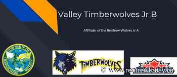 Valley Timberwolves Junior B hockey team could play out of Eganville - renfrewtoday.ca