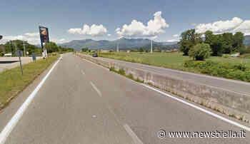 Nuovo caso in superstrada Biella Cossato: ieri un altro giovane la percorre in bicicletta - newsbiella.it