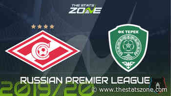 2019-20 Russian Premier League – Spartak Moscow vs Akhmat Grozny Preview & Prediction - The Stats Zone