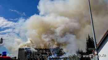 Feuerwehr Lorch: Haus komplett abgebrannt - SWP