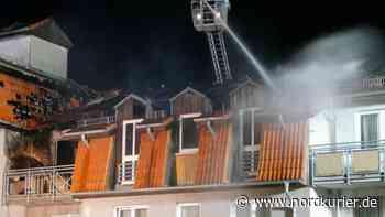 Tragödie: Identität des Brandopfers in Templin geklärt | Nordkurier.de - Nordkurier