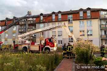 Feuer: 50 Seniorenwohnungen in Templin sind nach Brand wieder nutzbar - Märkische Onlinezeitung