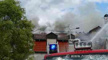 Feuerkatastrophe: Brandhelfer stellvertretend für viele in Templin gewürdigt | Nordkurier.de - Nordkurier