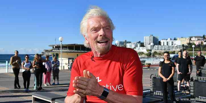 Richard Branson Secures Lifeline for Virgin Atlantic - The Wall Street Journal