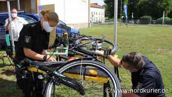 Ansturm bei Fahrrad-Codierung in Pasewalk - Nordkurier