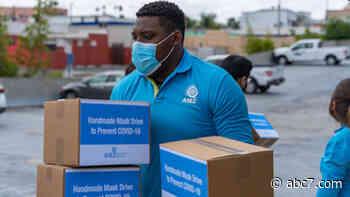 Youth organization donates handmade masks to Inglewood inmates - KABC-TV