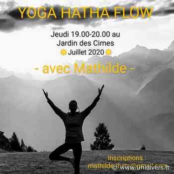 Yoga Hatha Flow Jardin des Cimes jeudi 16 juillet 2020 - Unidivers