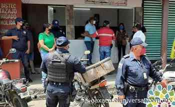 Multarán con 300 pesos a quien no use cubrebocas en Loma Bonita - El Universal