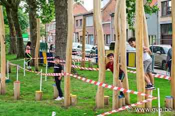 """Omstreden speelplein in Meetjeslandstraat weer open: """"Tweede keer, goede keer"""" - Gazet van Antwerpen"""